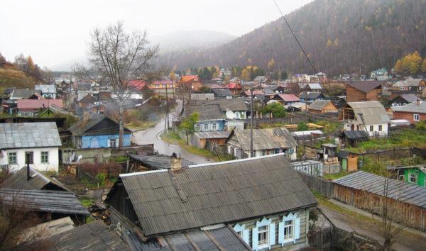 Rysk-ortodoxt barndop i Lystvianka