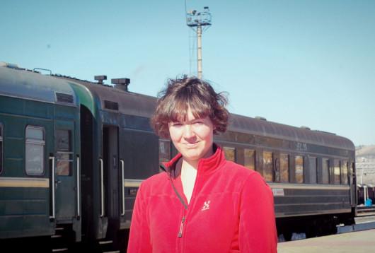 Magda på Transmongoliska Järnvägen