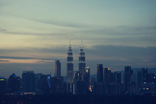 Fruktansvärt fuktigt i coola Kuala Lumpur