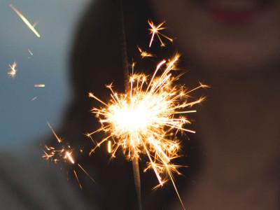 Nyår på Kuta Beach