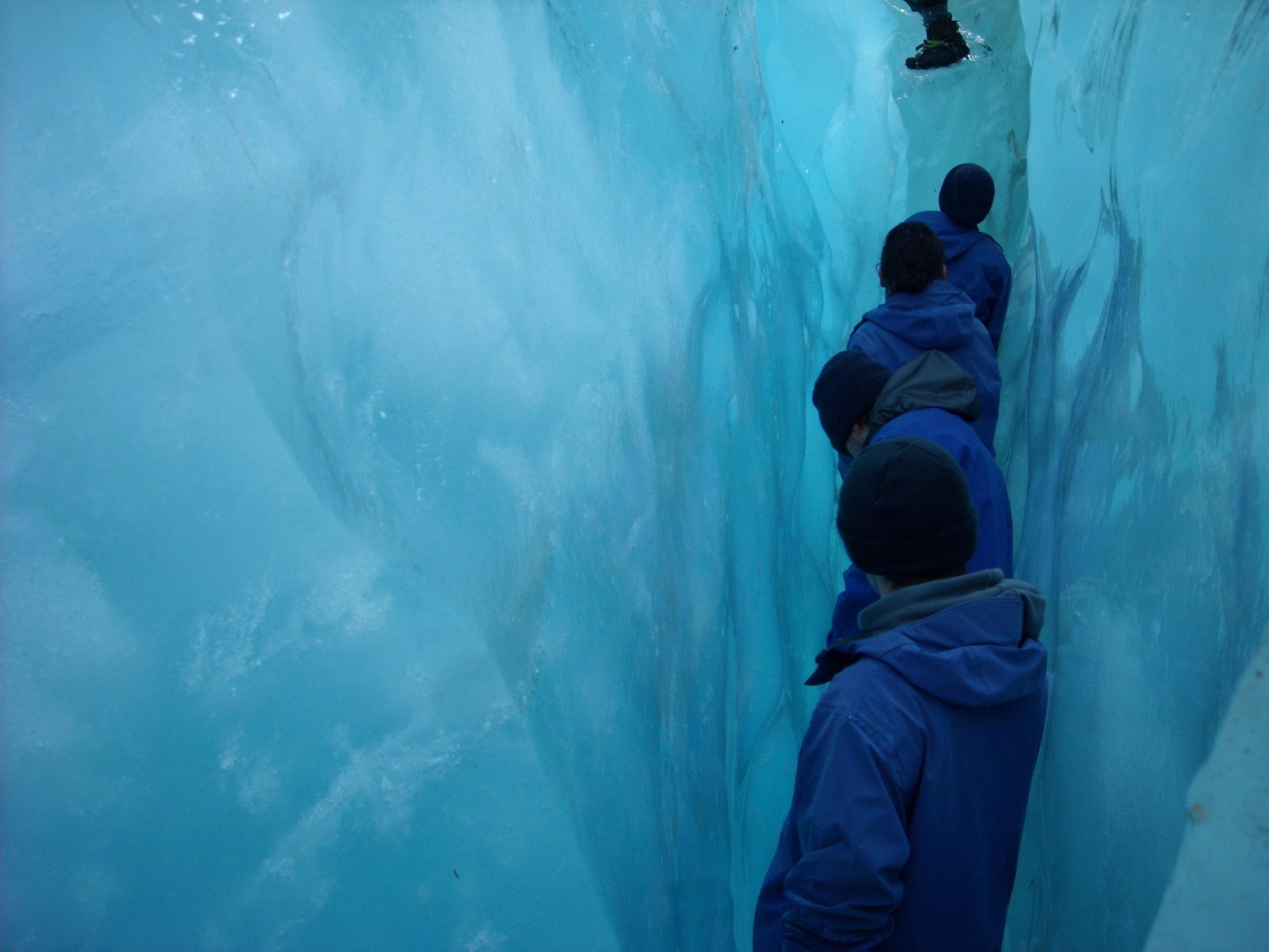 Nya Zeeland glaciärvandring