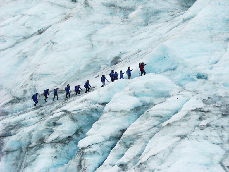 Nya Zeeland Twitter: The Great Alpine Highway Och Glaciärvandring På Franz