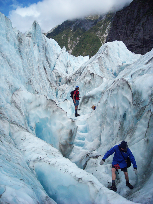 Franz Joseph glacier trekking