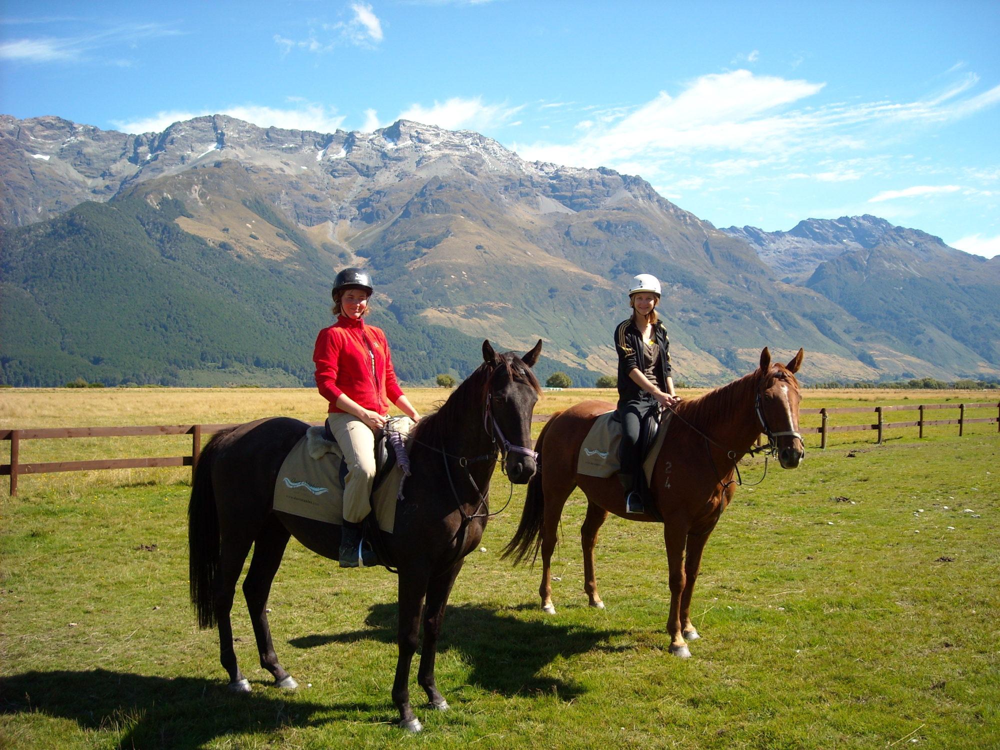 Rida på Nya Zeeland