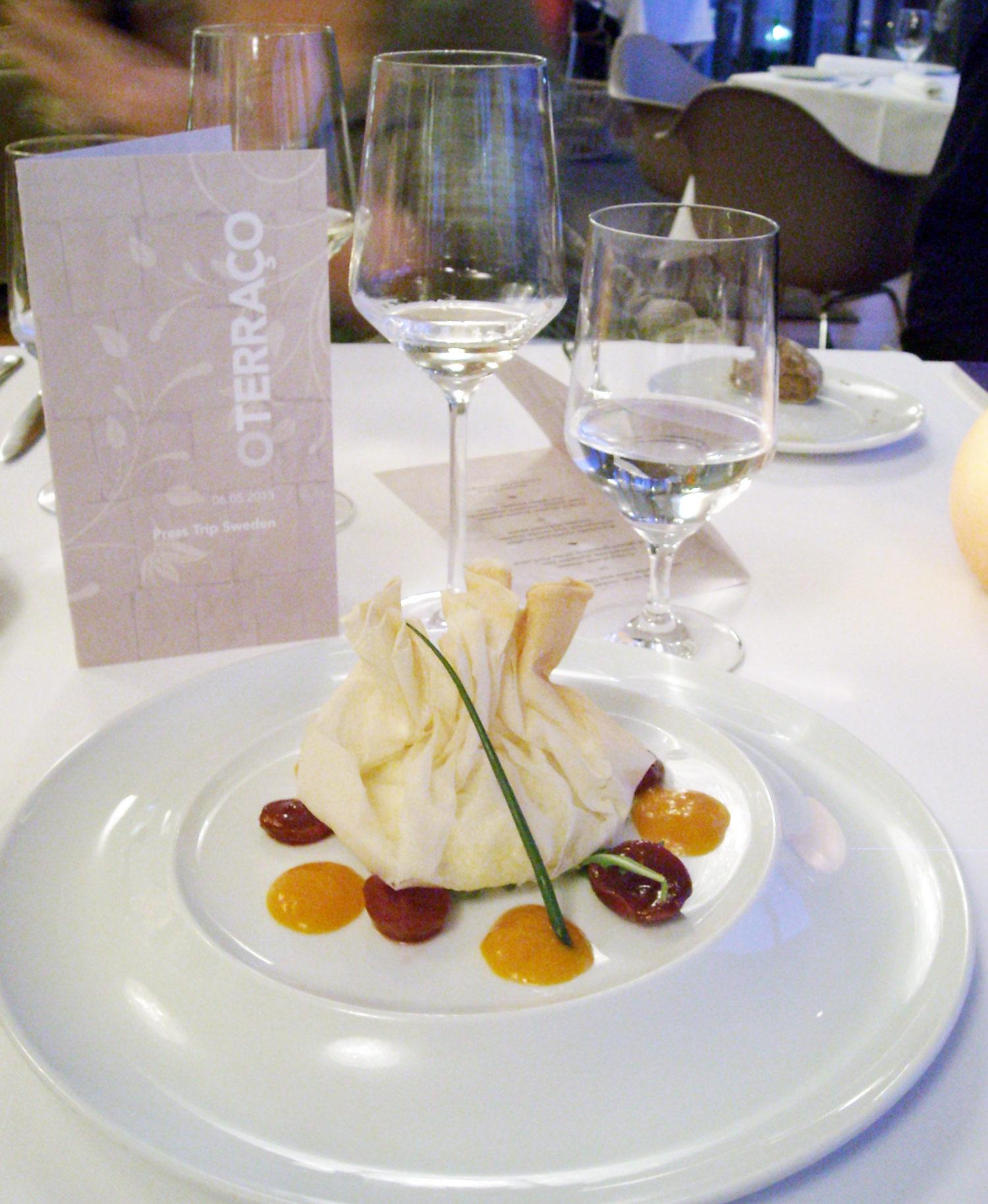 Middag på Martinhal Beach Resort & Hotel på Algarvekusten i Portugal