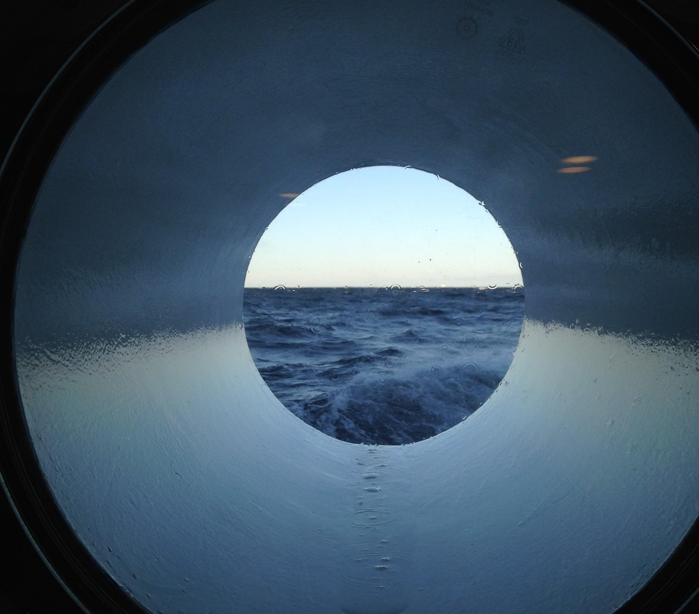 En minihälsning från havet