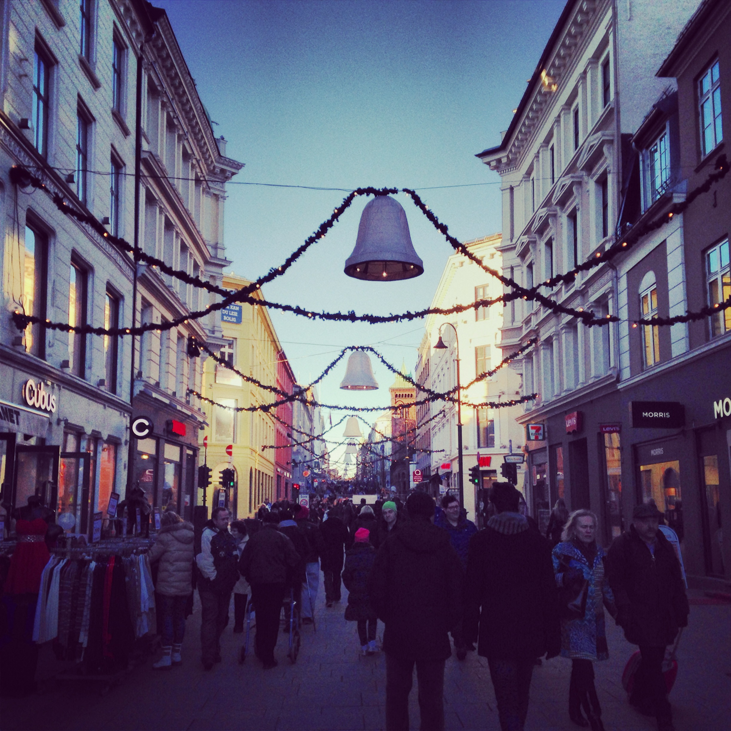 Christmas in Oslo Norway