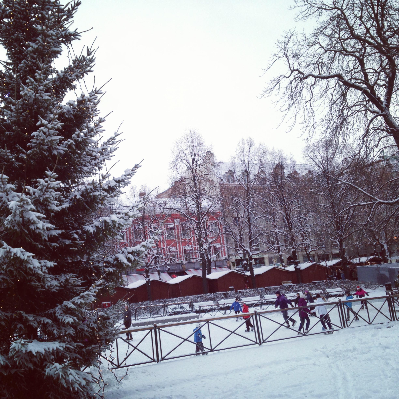 Christmas in Oslo Norway