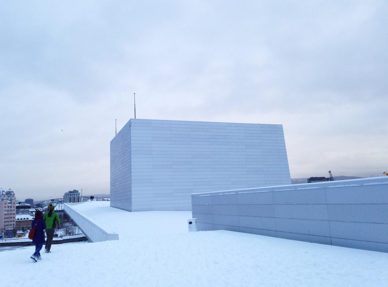 Operahuset i Oslo Norge
