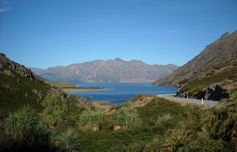 Lake Hawea Nya Zeeland