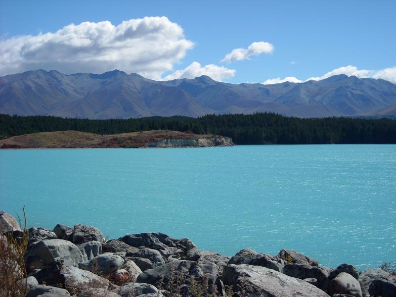 Lake Pukaki Nya Zeeland