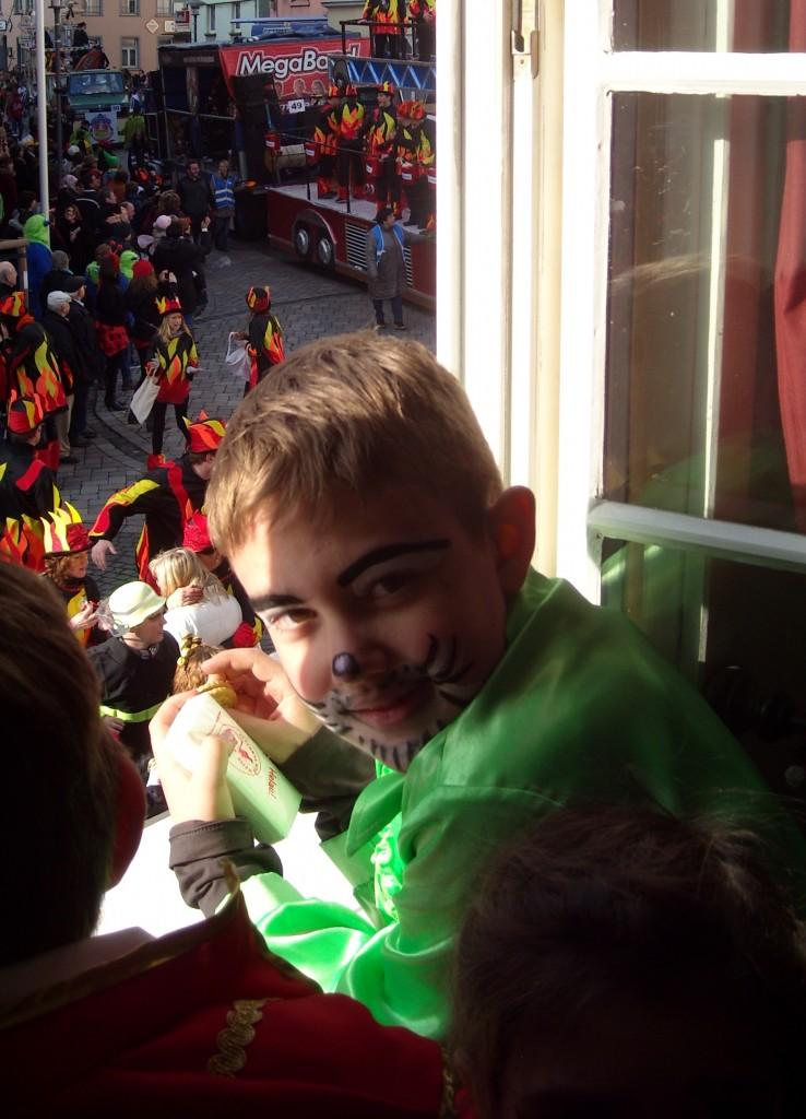 Karneval 1 pojken