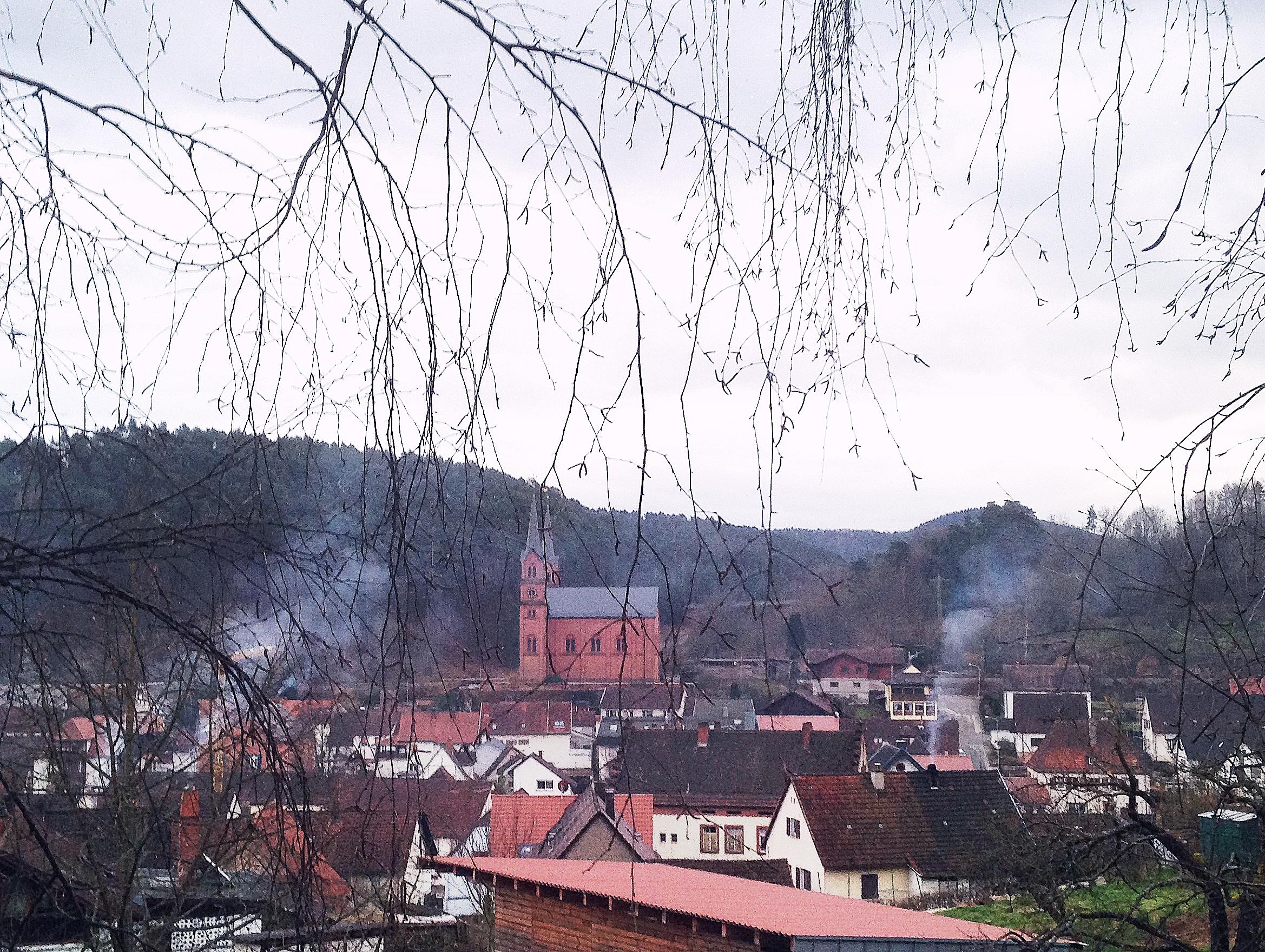 På kryssning som Rapunzel och Törnrosa i Rhendalen