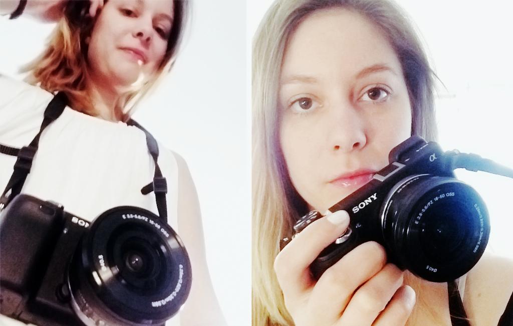 fotografen och kameran