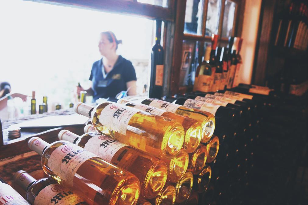 Vinprovning i Balchik, Bulgarien