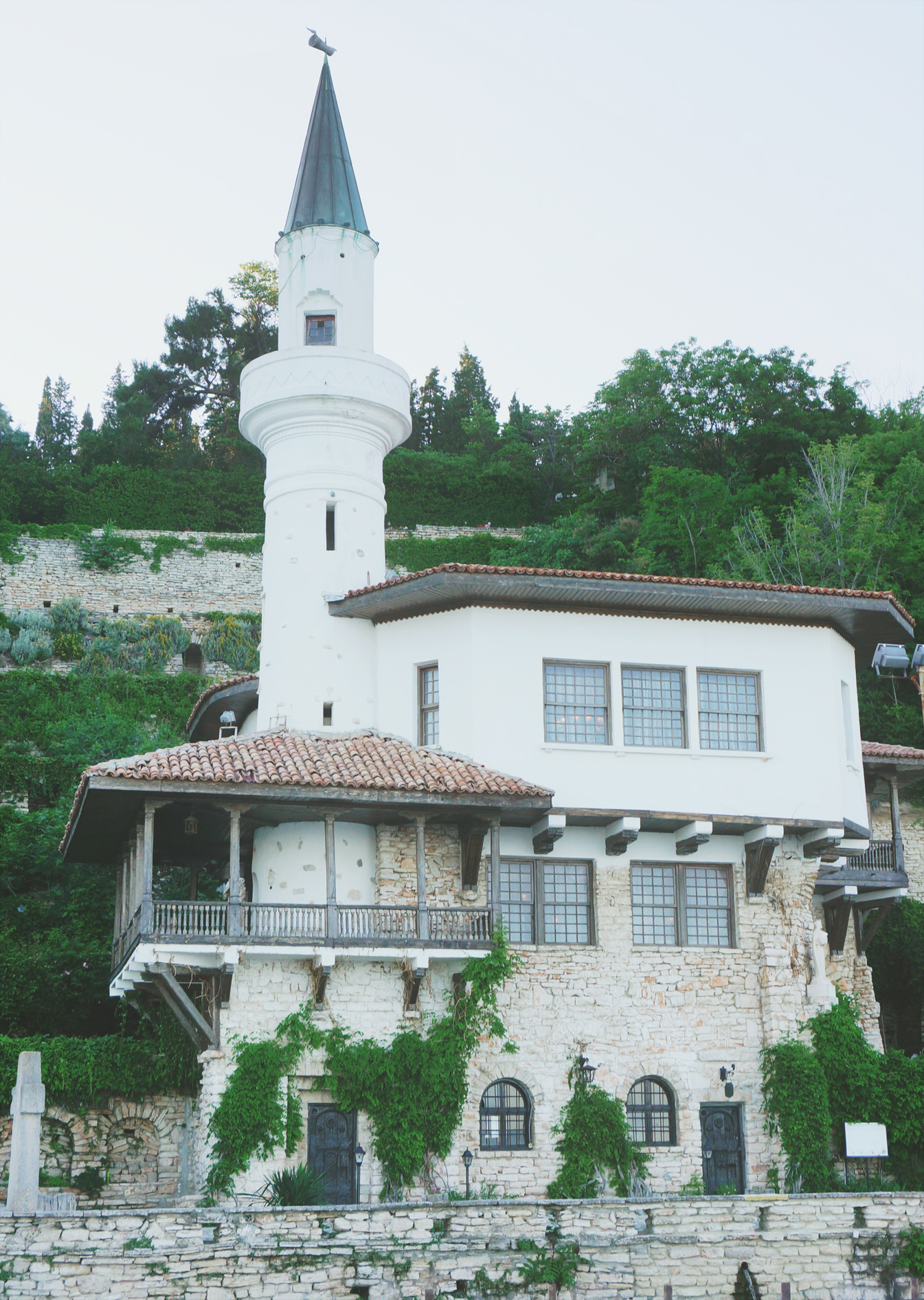 Botanical garden in Balchik, Bulgarien