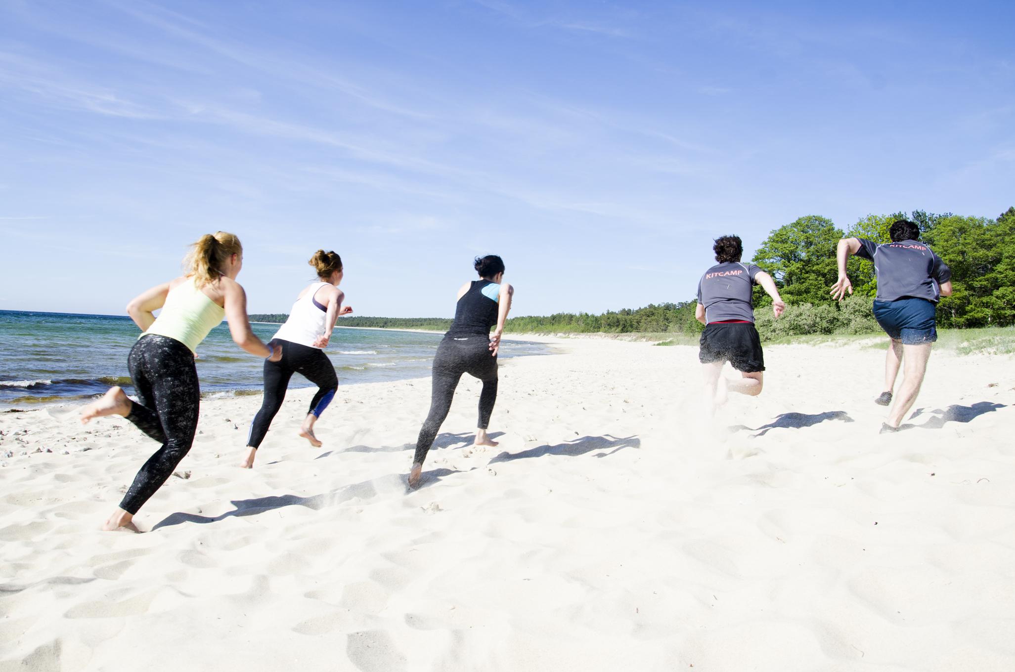 En svettig träningsvecka på norra Öland