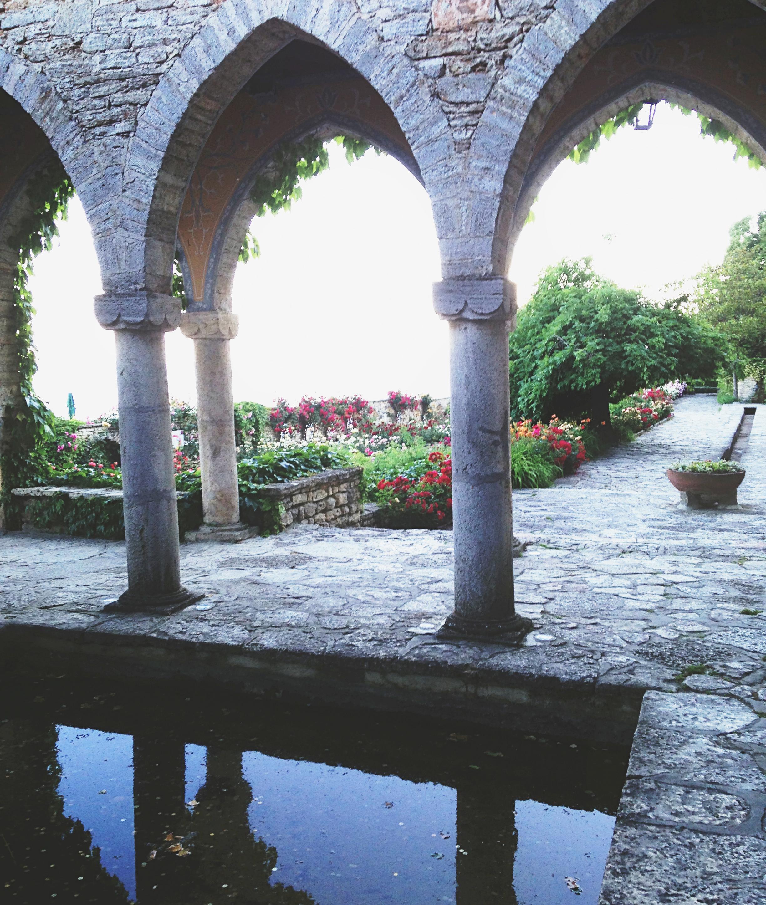 Botanisk trädgård i Balchik, Bulgarien