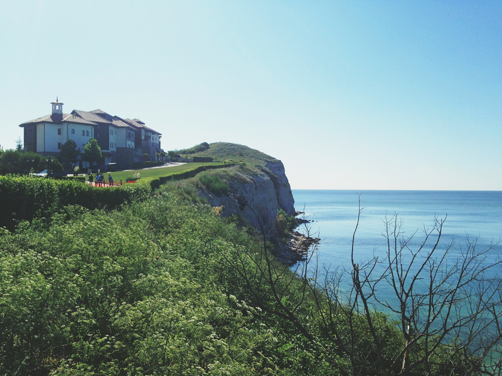 Kavarna – Thracian cliffs i Bulgarien