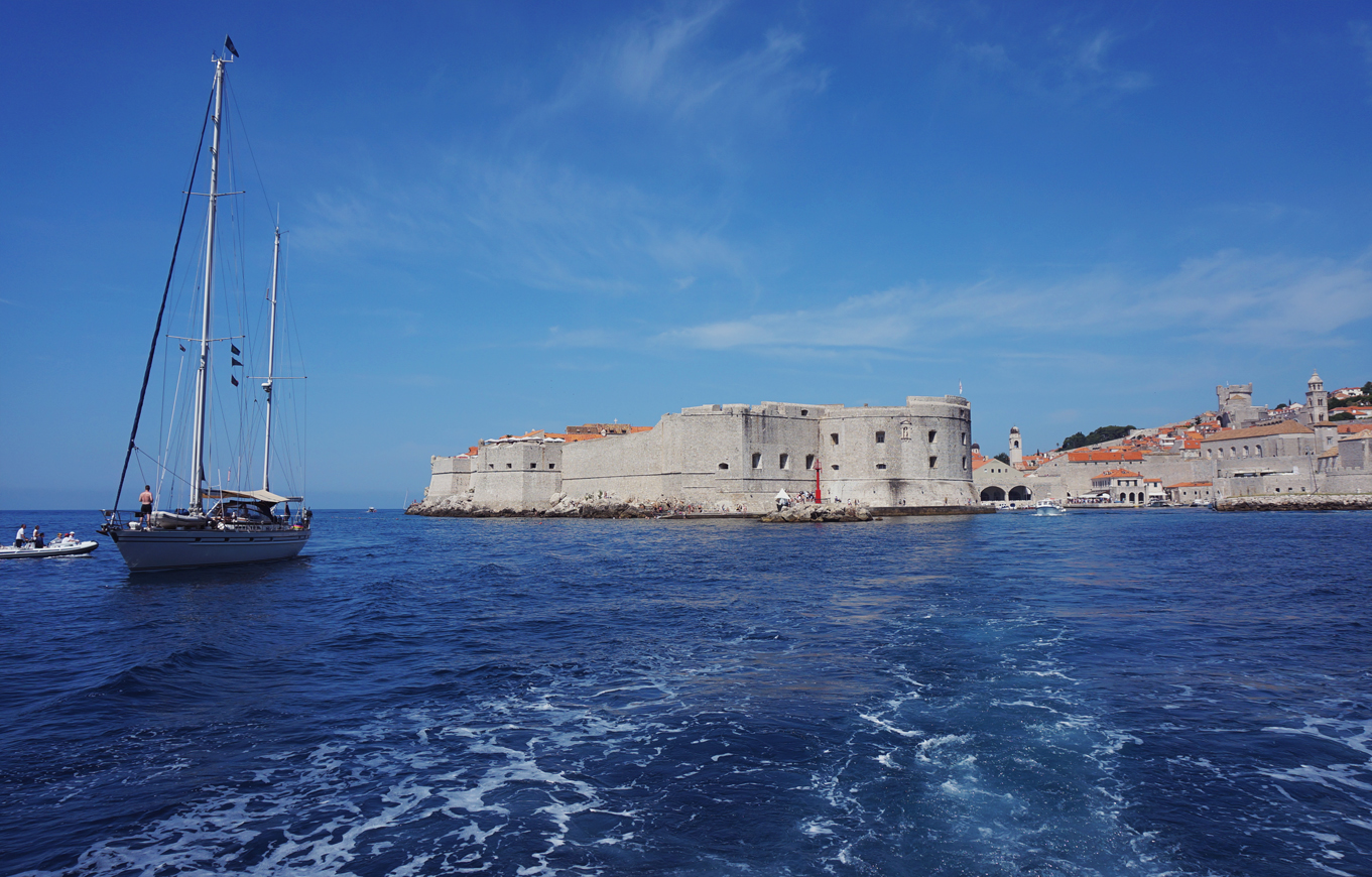 Dubrovnik sea view
