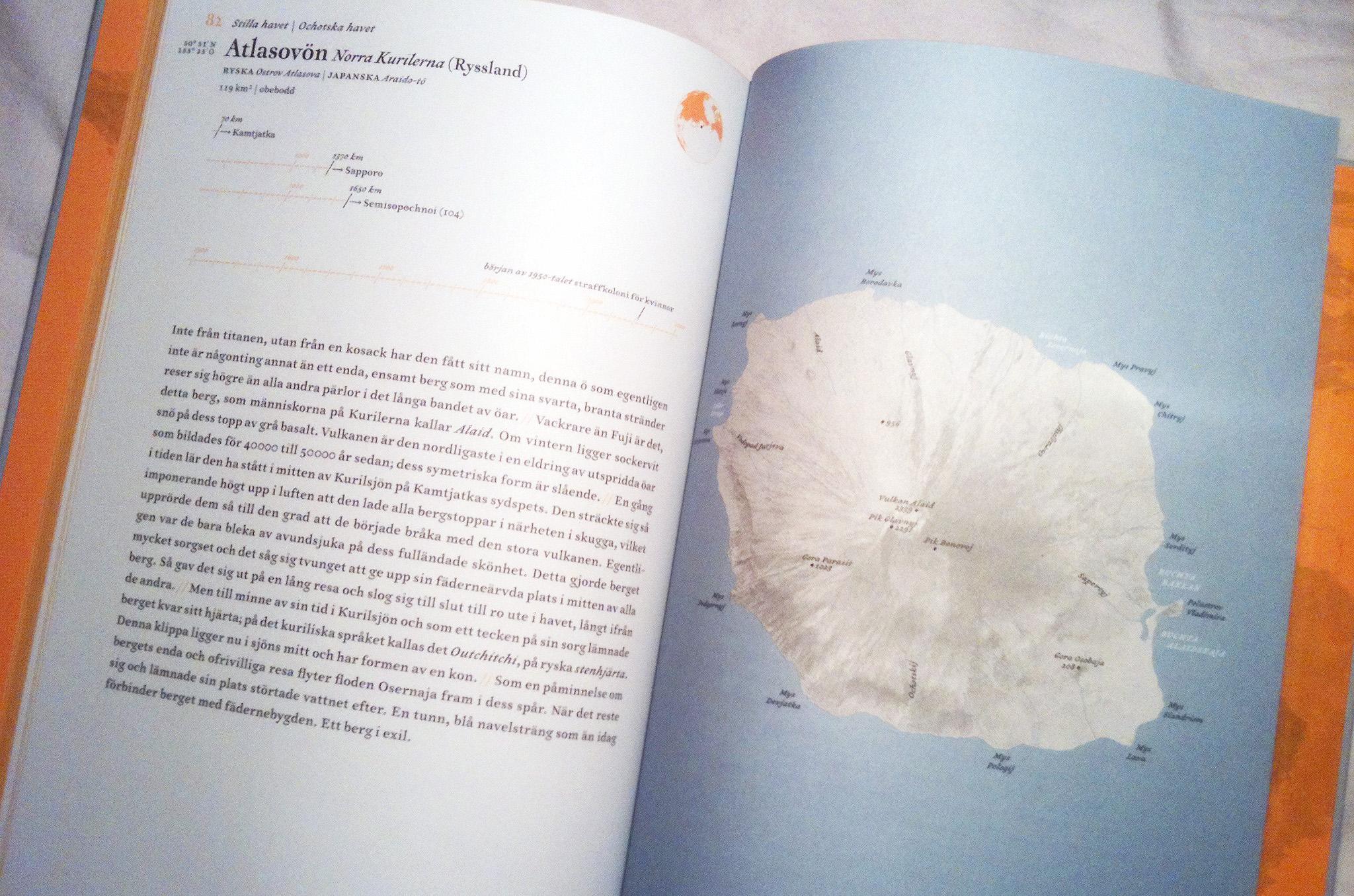 Atlas över avlägsna öar – fantasiresor på bok