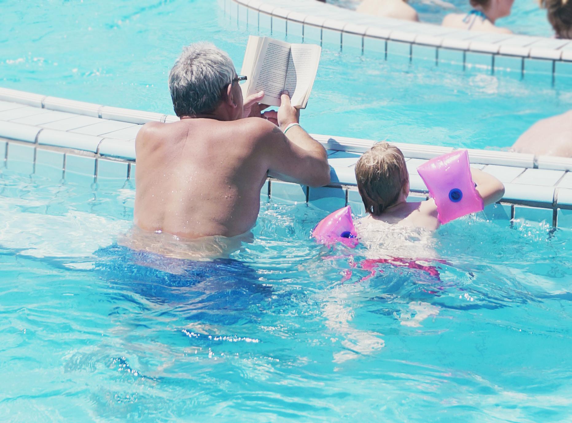 barn med morfar
