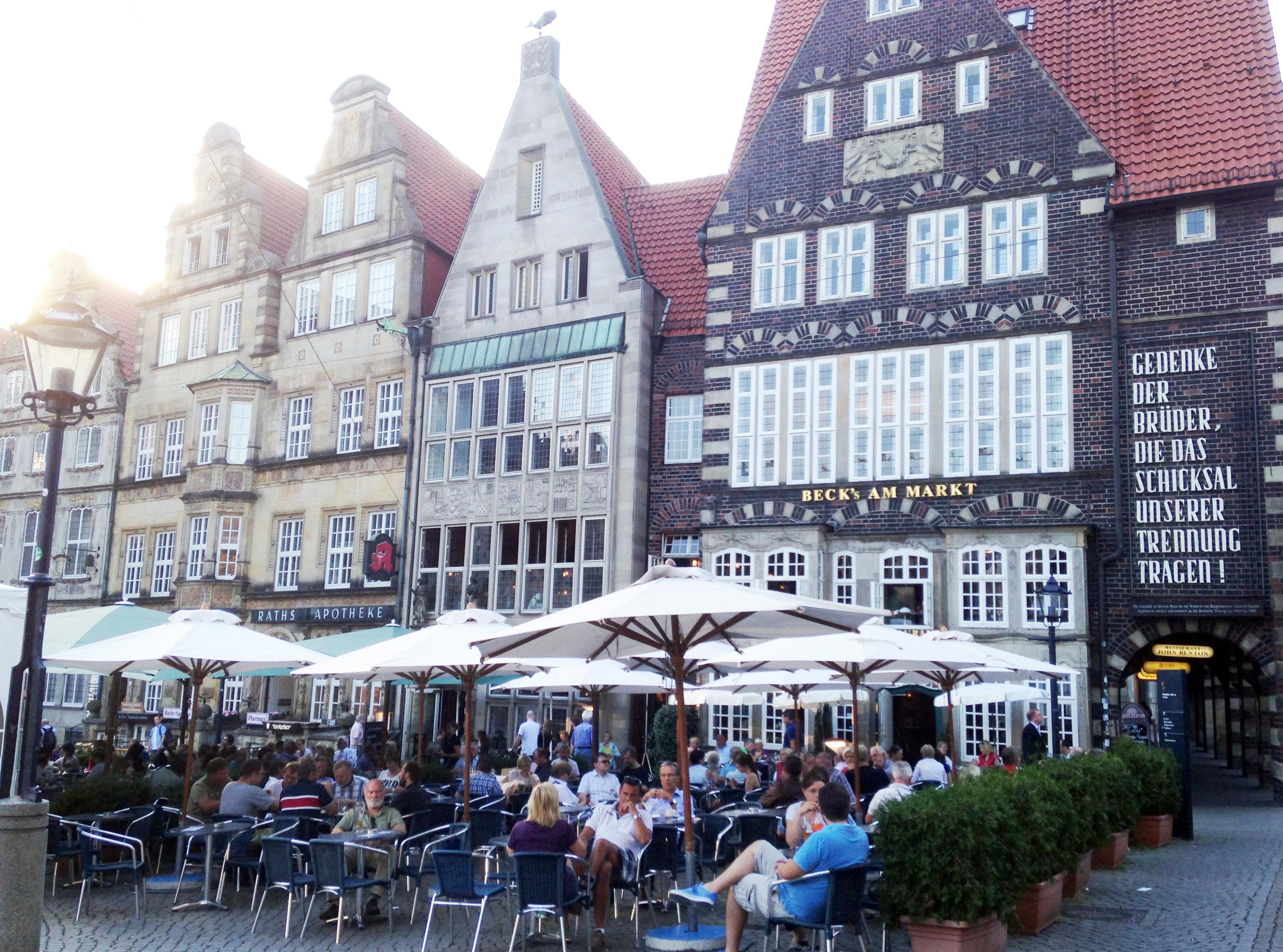 En gammal Hansastads färgstarkare sidor – en dag i Bremen