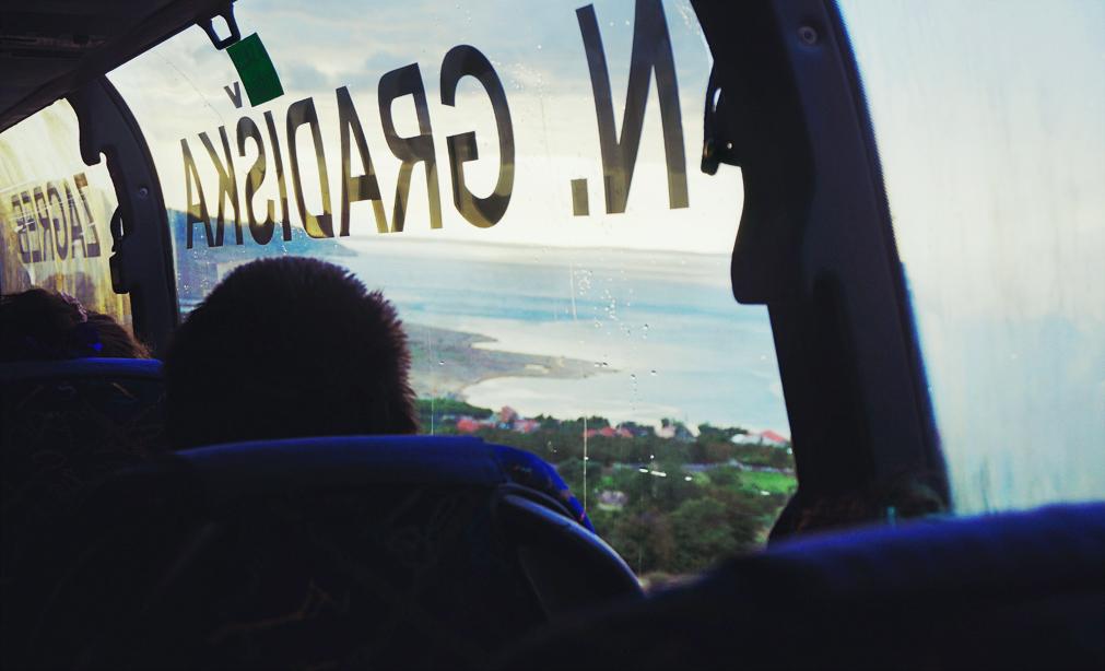 buss i kroatien