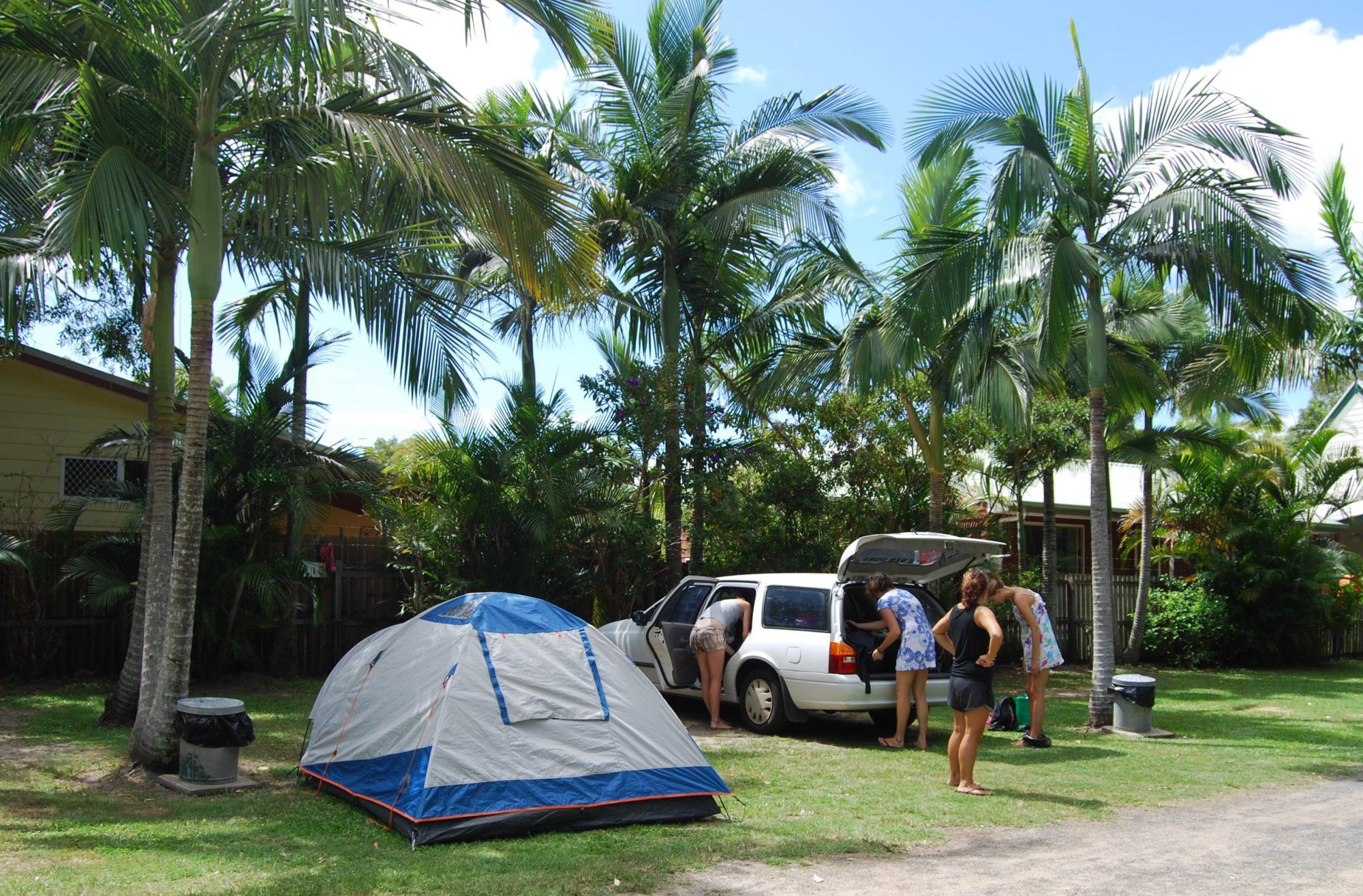Camping Australien Guldkusten