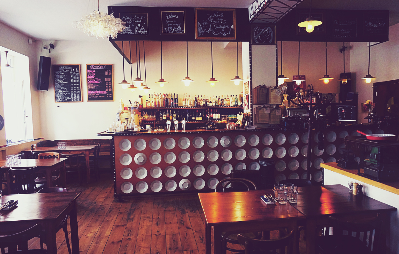 kloves restaurant interior