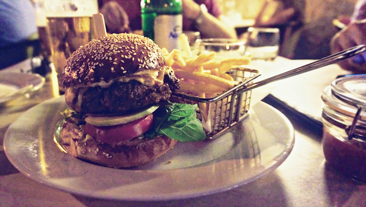 menza hamburger