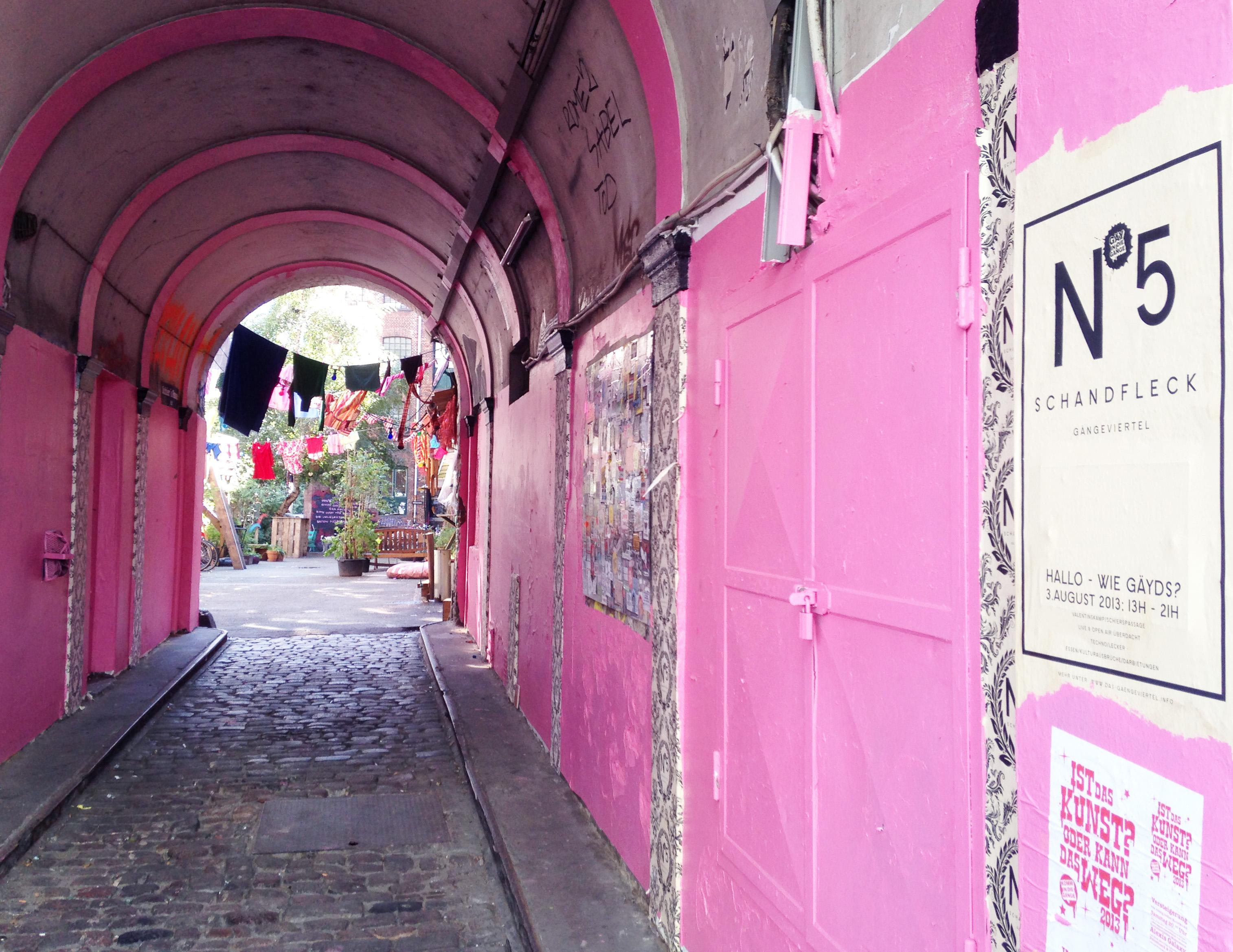 En dagsvandring genom ett alternativare Hamburg