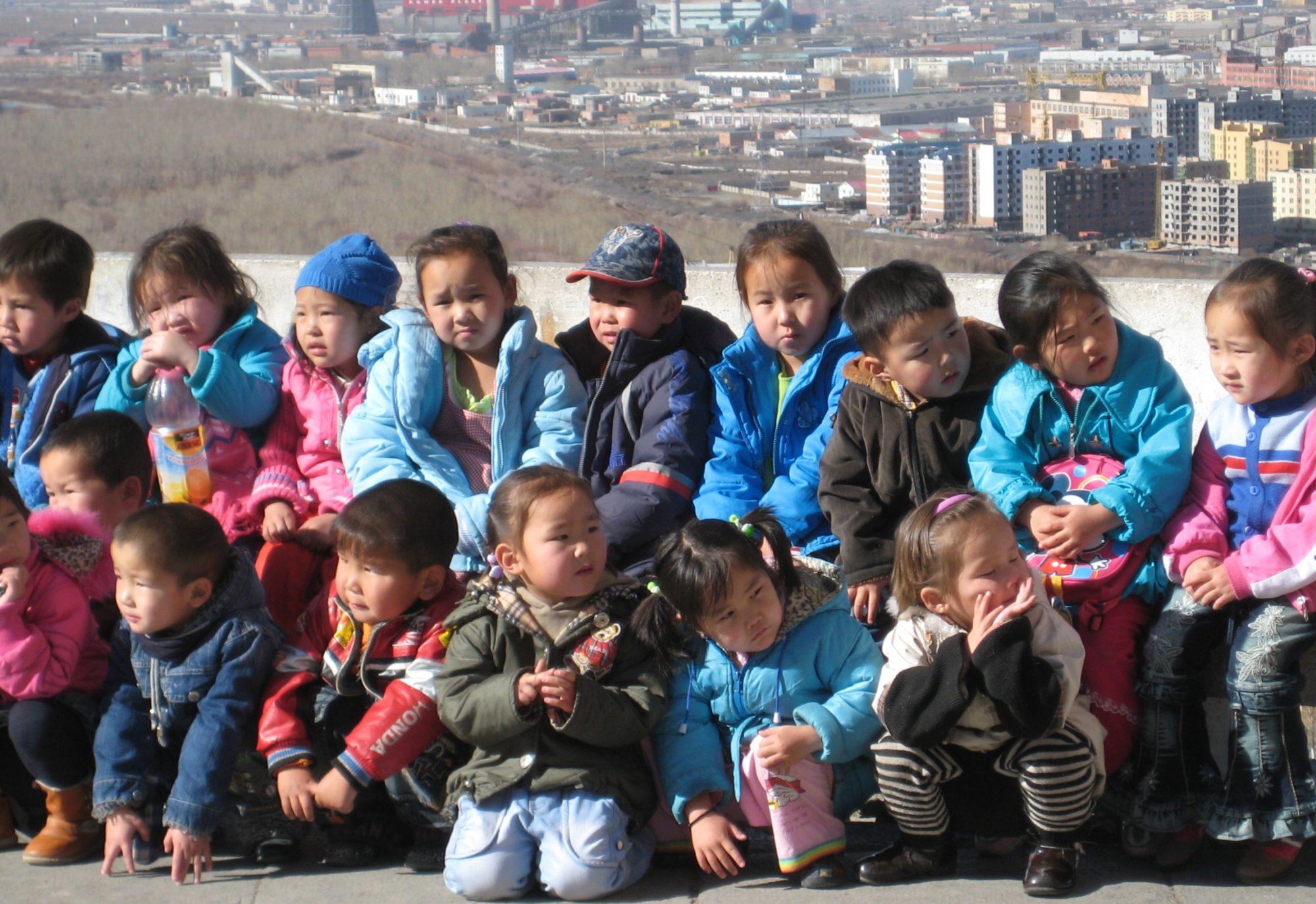 Gulliga mongoler i ett spännande land