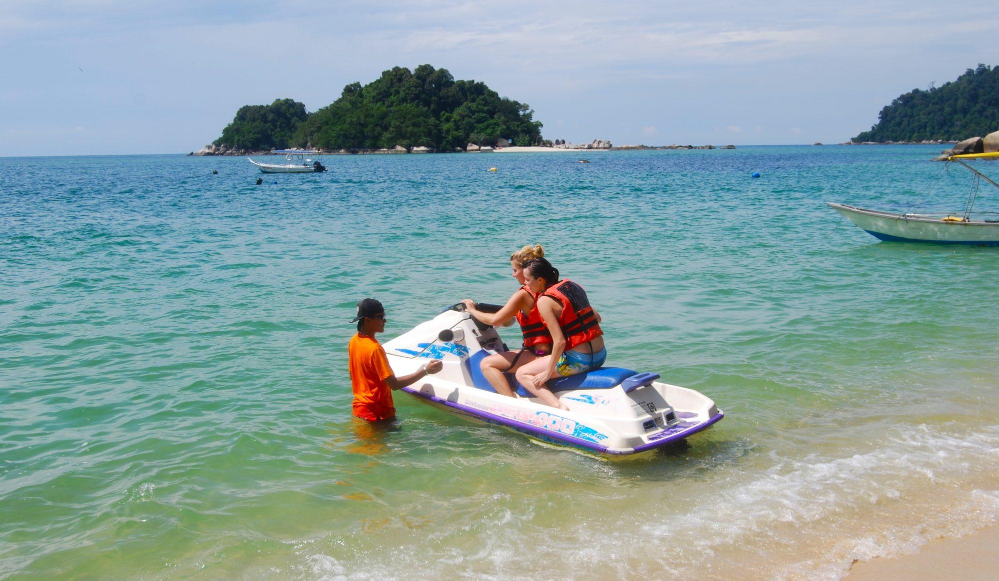 I Nipah Bay på Pulau Pangkor står tiden stilla