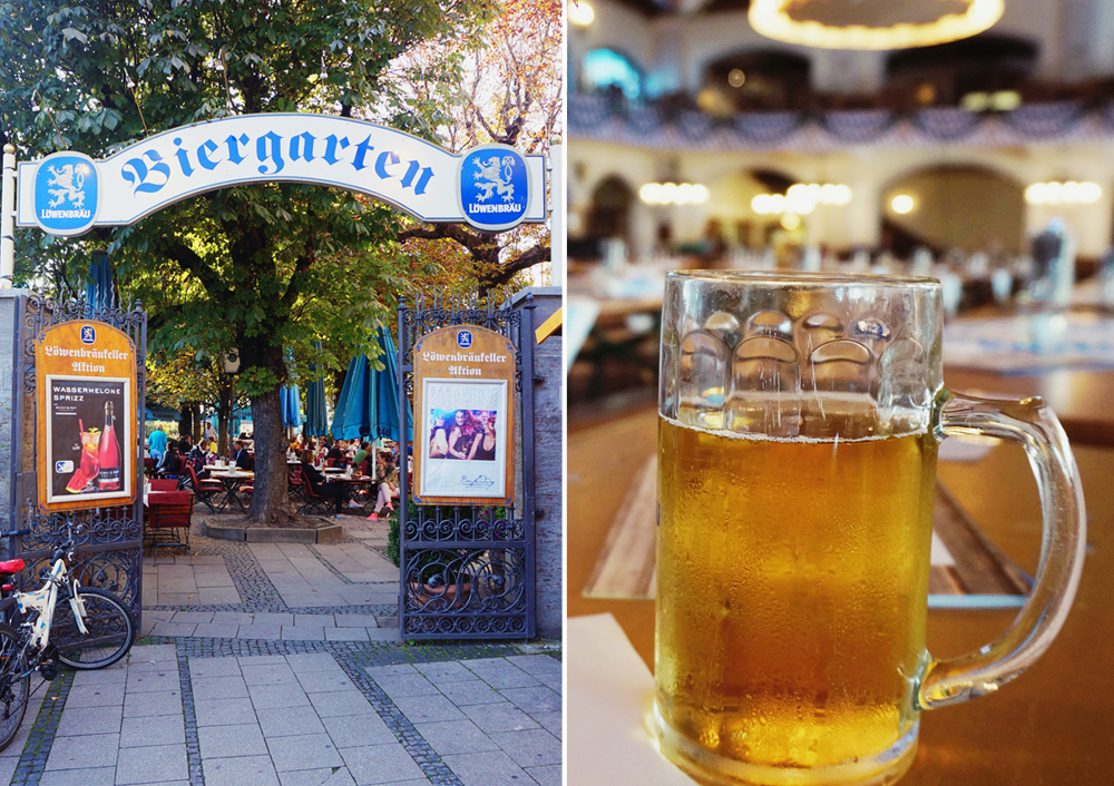 Bierharten munchen tyskland