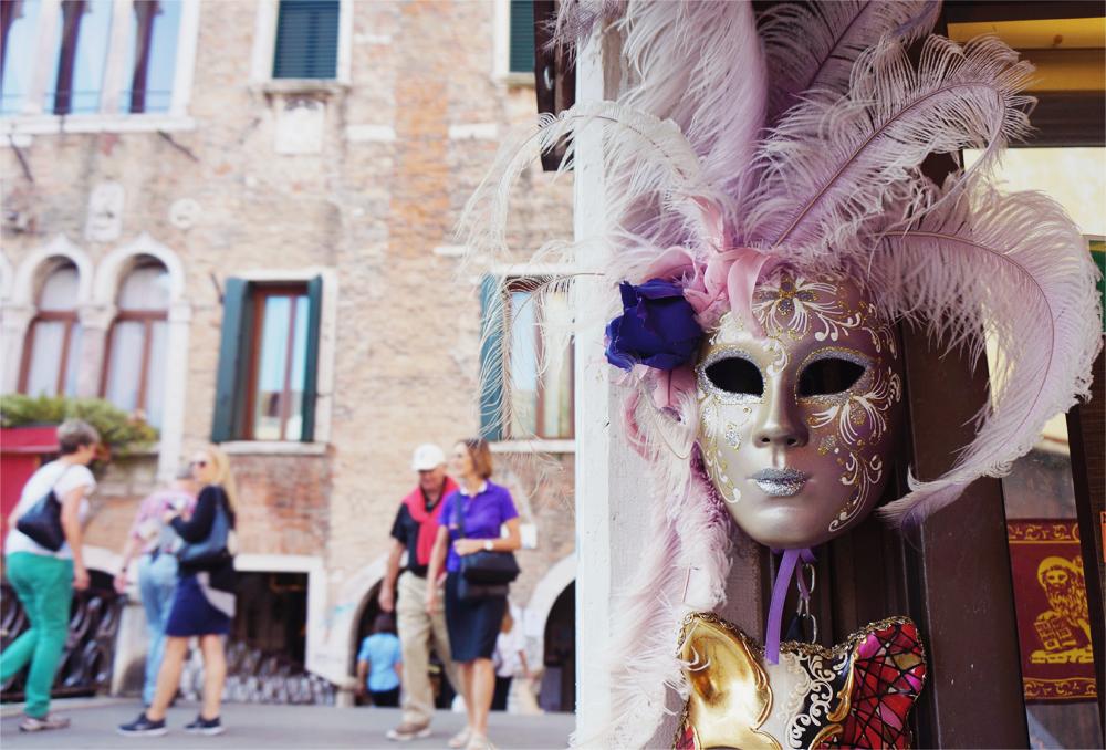 På strövtåg i Venedig