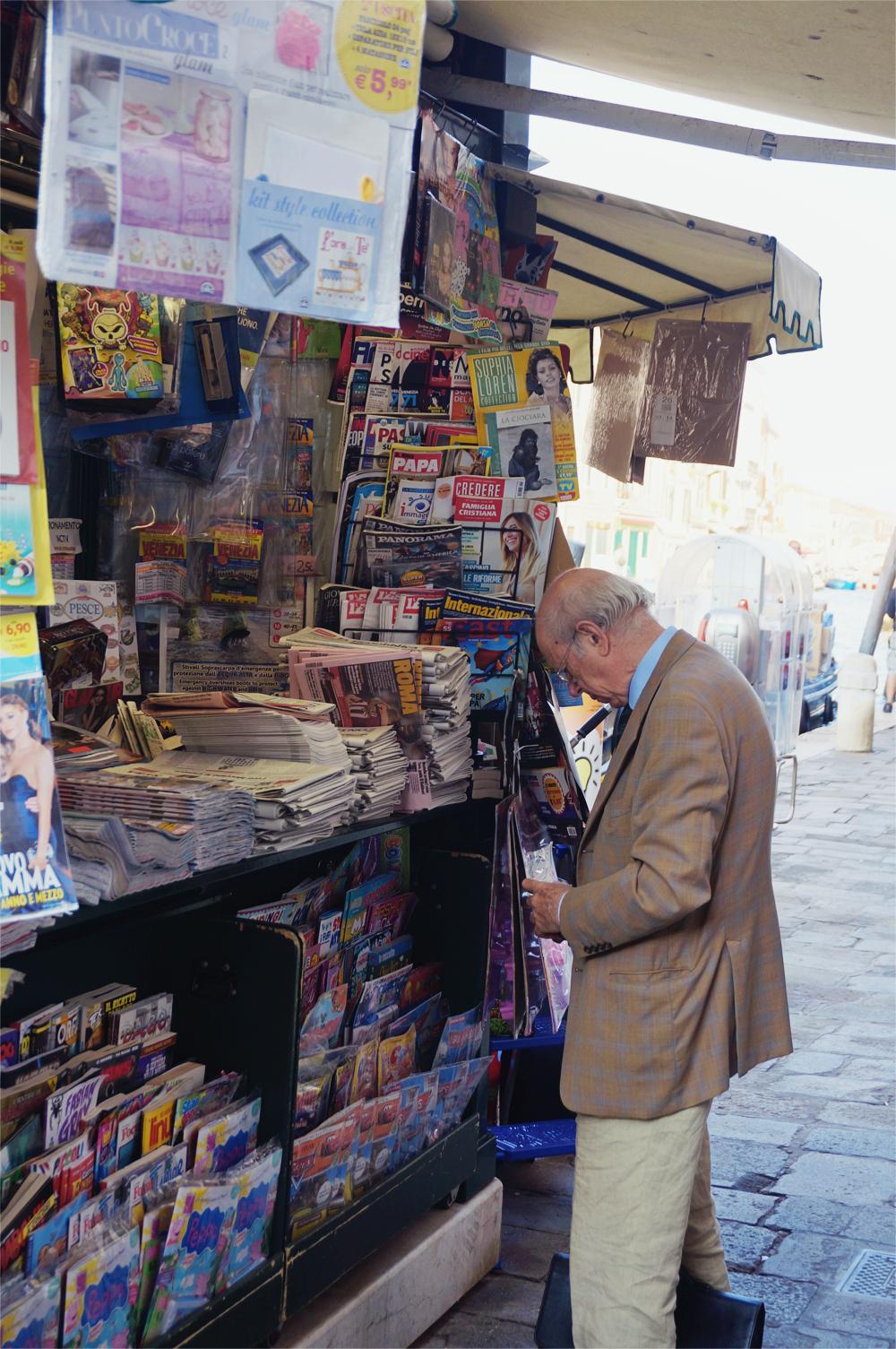 Venedig old man