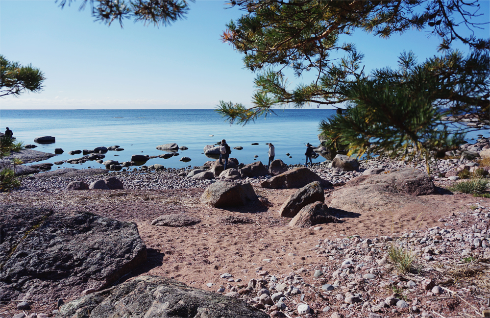 vandring beach