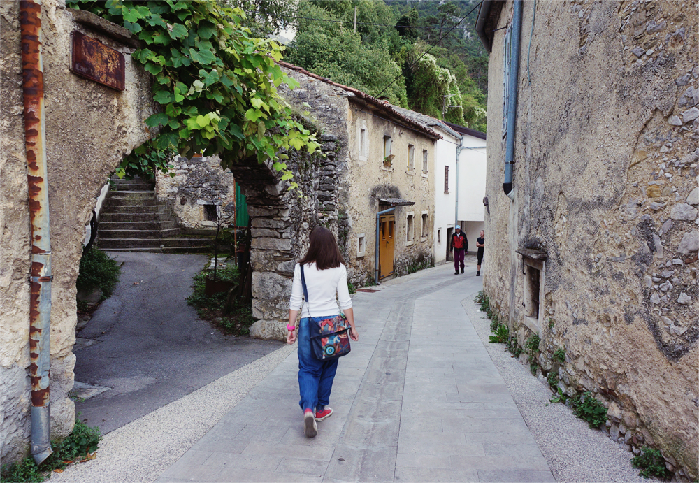 slovensk by promenad