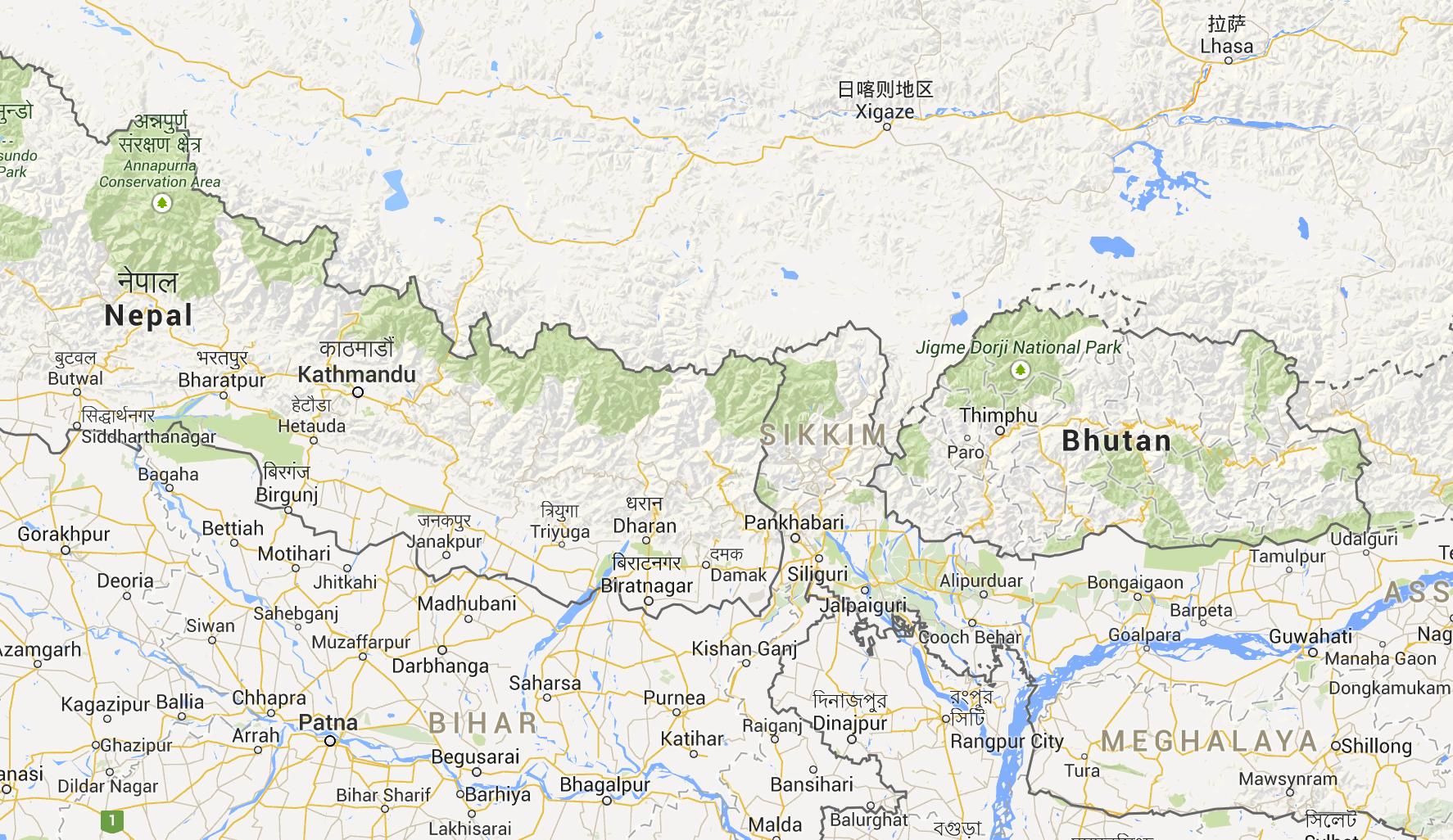 Bhutan-karta
