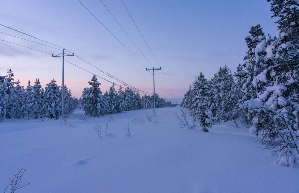 Resa i finska Lappland