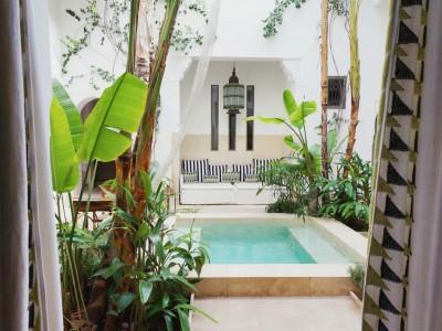 Bo i medinan i Marrakech, Marocko