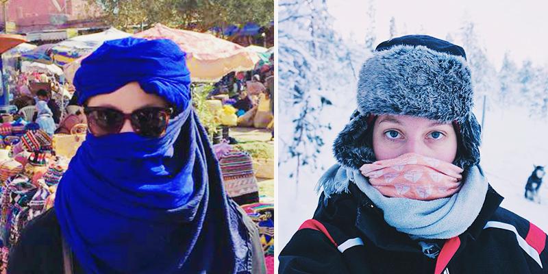 Från Marrakech till finska Lappland