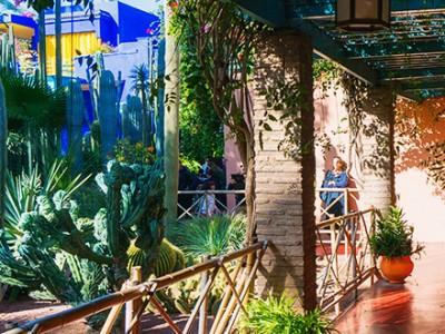 Majorelle Garden i Marrakech, Marocko