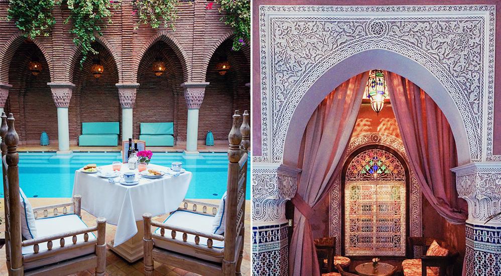 Sussa som en äkta sultaninna i magiska La Sultana i Marrakech