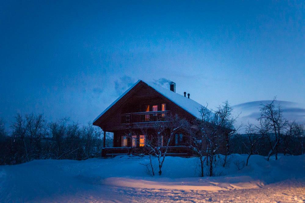 Kilpisjärvi: Norrsken och konsten att överleva minus fyrtio grader