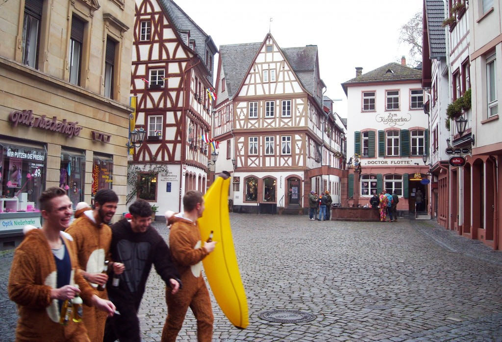 Karnevalen i Mainz Tyskland