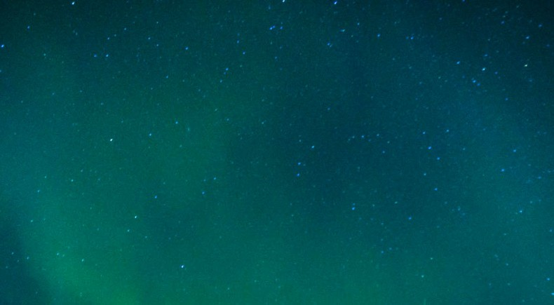 Norrsken i finska Lappland