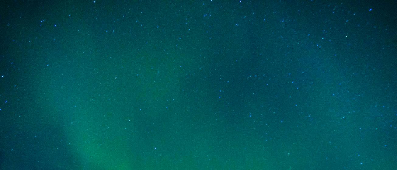 Norrsken i Kilpisjärvi och konsten att överleva minus fyrtio grader