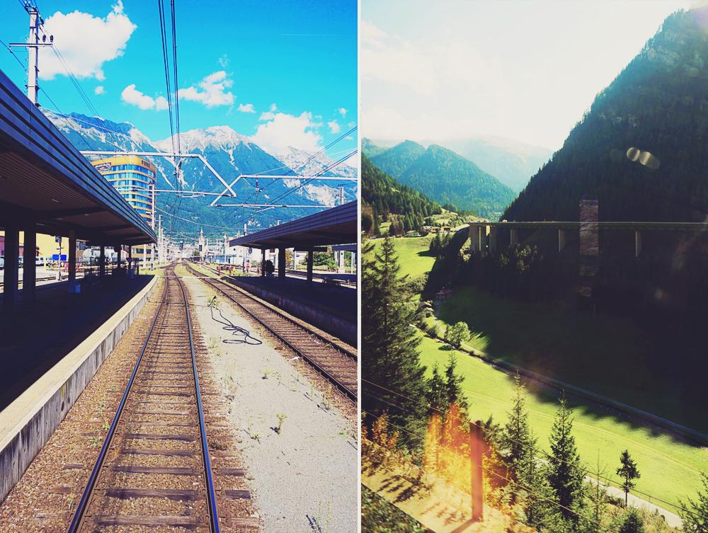 Tyrolen – en resa genom Österrike med tåg
